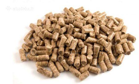 """Ekologiškas kietasis kuras, 100% pušies granulės, prekyba, atvežimas, """"KOVAS"""" UAB, Trakai"""