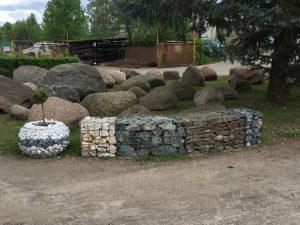 """Gabionai, akmenys, aplinkotvarka, gerbūvis, statybinės medžiagos, prekyba, Trakai, """"KOVAS"""" UAB"""