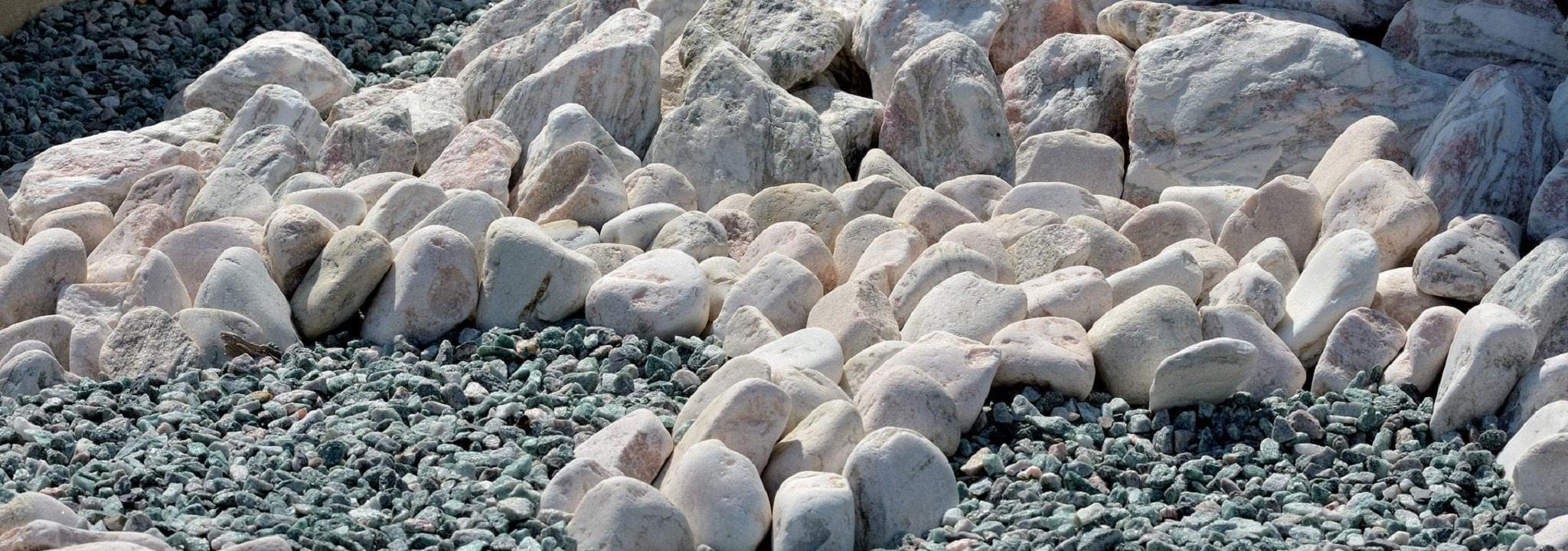 Dekoratyviniai akmenys, aplinkotvarka, gerbūvis, statybinės medžiagos, Kovas UAB, Trakai