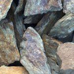 gabionas, akmenys, Slate grey lumps, Skalūnas pilkas gabalais, prekyba, gerbuvis, įrengimo medžiagos, kovas, trakai