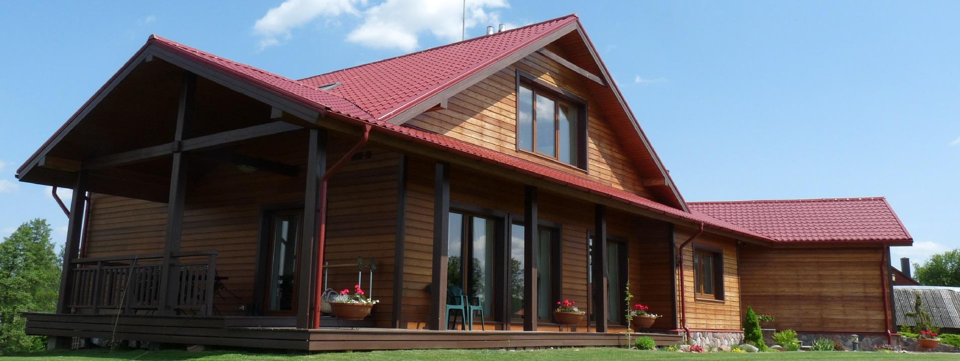 """Gyvenamieji namai, individualių namų, statyba, pamatai, mūras, sienos, stogas, aplinka, konstrukcijos, statybos darbai, statybinės medžiagos, prekyba, Trakai - """"KOVAS"""" UAB"""