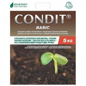 """CONDIT Basic, organinė trąša, ilgo veikimo, dirvos aktyvatorius, prekyba, Trakai, """"KOVAS"""" UAB"""
