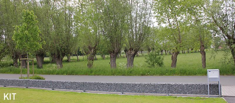 Dekobox Gabiono konstrukcija, dekoratyvinė tvora, akmenys