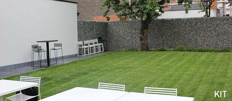 Dekobox Gabiono konstrukcija, dekoratyvinė tvora, sodas