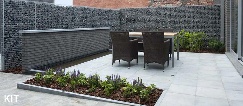 Dekobox Gabiono konstrukcija, dekoratyvinė tvora